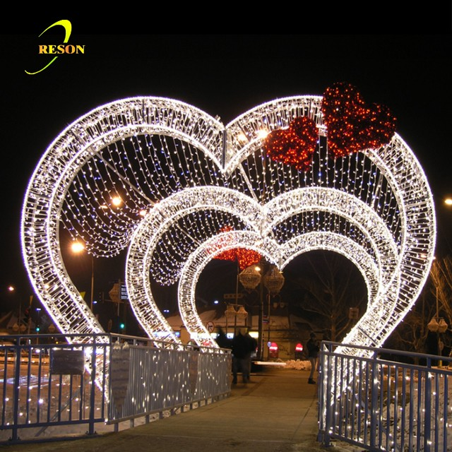Best Wedding Valentine Entrance Decoration Heart Shaped Arch This Month