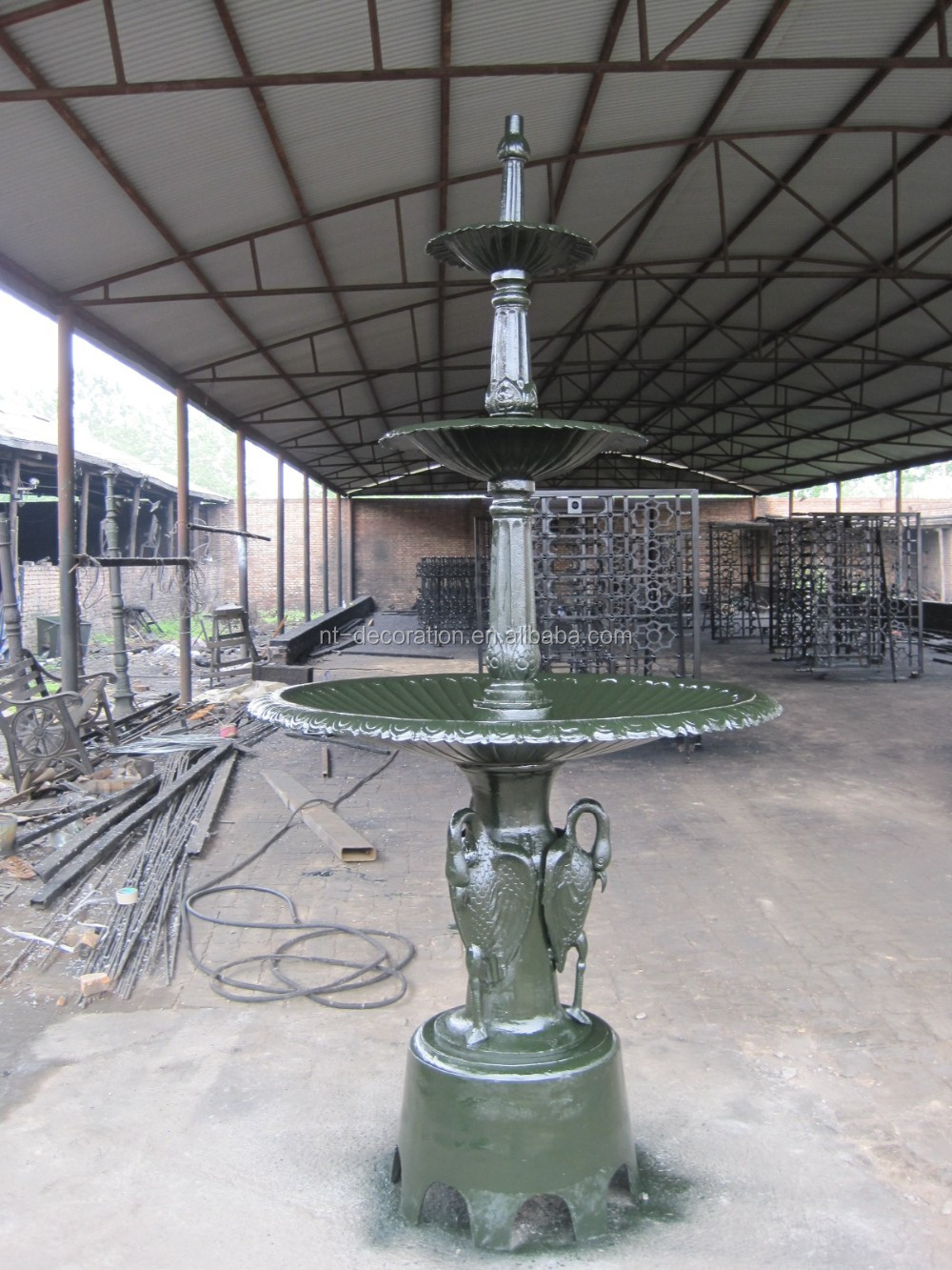 Best Large Garden Decorative Cast Iron Water Fountain Ntif 001A This Month