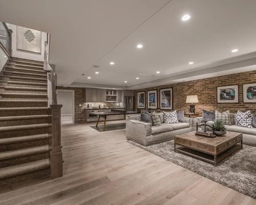 Best 30 Trendy Basement Design Ideas Pictures Of Basement This Month