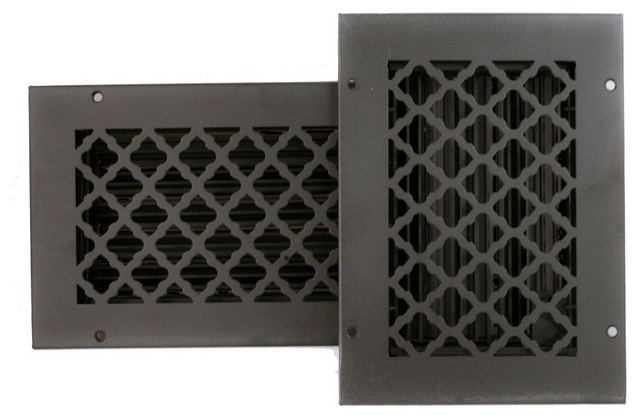 Best Cast Iron Look Tuscan Ceiling And Wall Registers With This Month