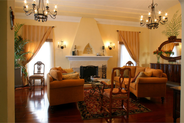 Best 1920 S House Mediterranean Living Room Los Angeles This Month