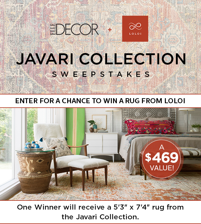 Best Elle Decor Loloi Sweepstakes This Month
