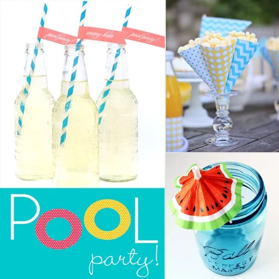 Best Cheap Pool Party Decorations Popsugar Smart Living This Month