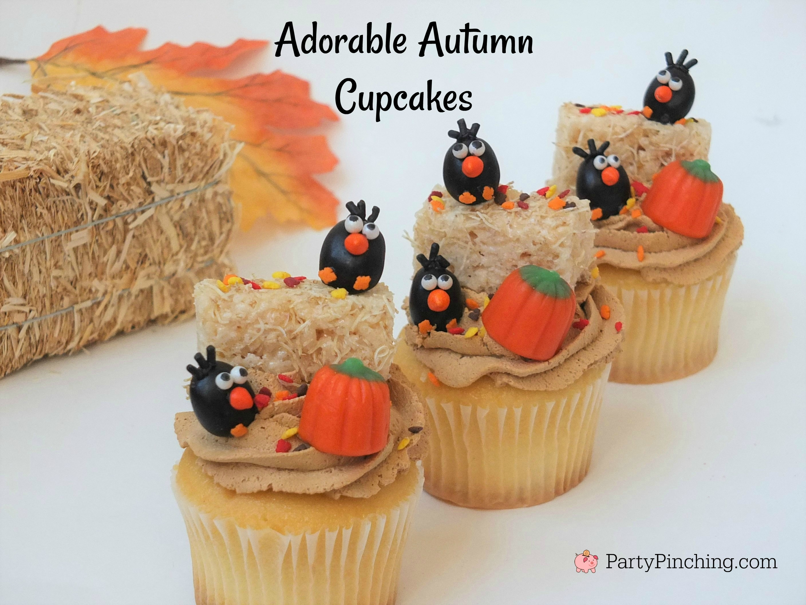 Best Crow Cupcakes For Harvest Halloween Fall Autumn This Month