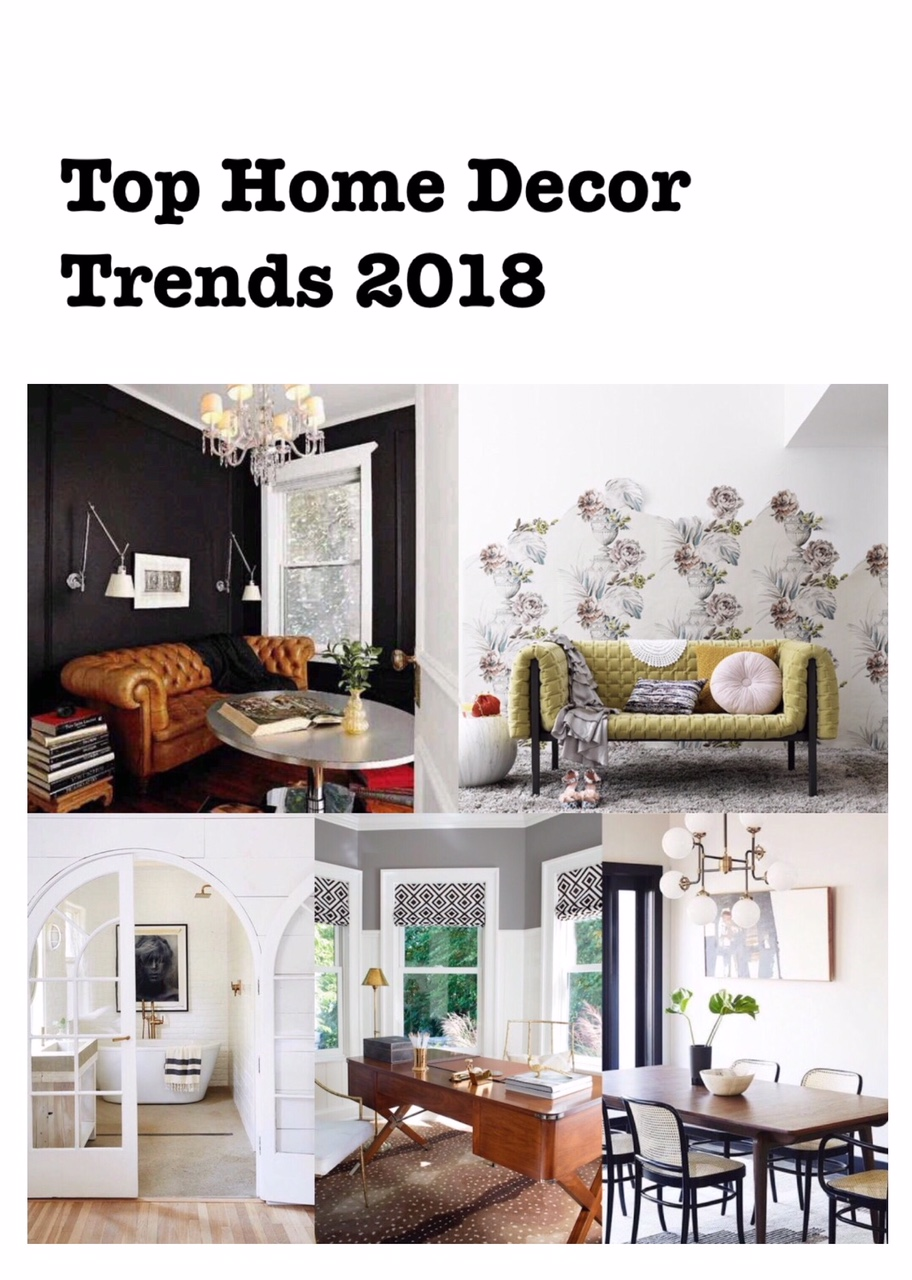 Best The Top Home Decor Trends For 2018 Harlow Thistle This Month