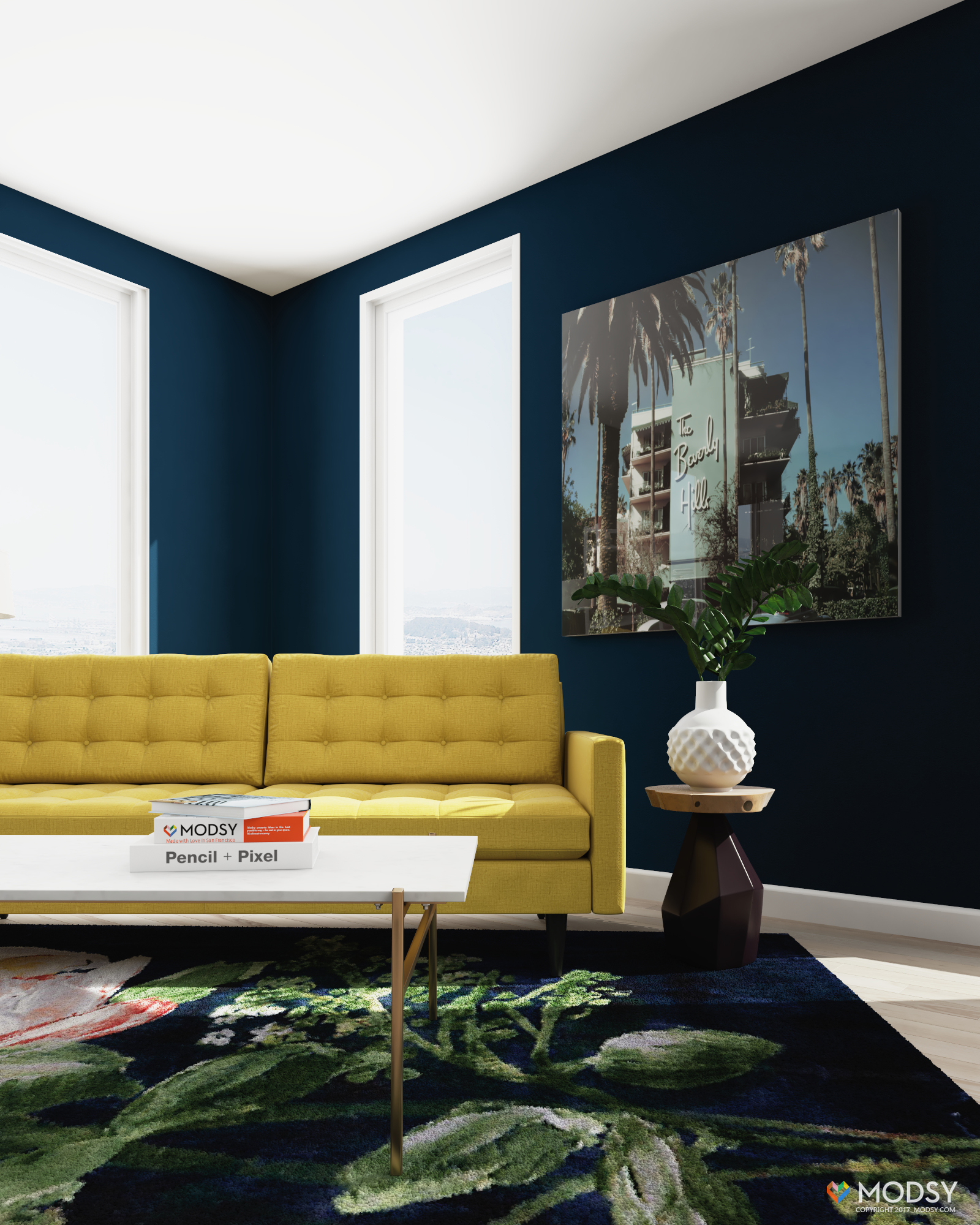 Best Petrie Sofa Styled Three Ways This Month