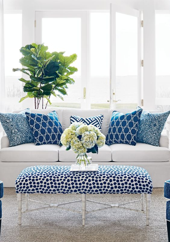 Best Blue White Rooms And Very Affordable Blue White This Month