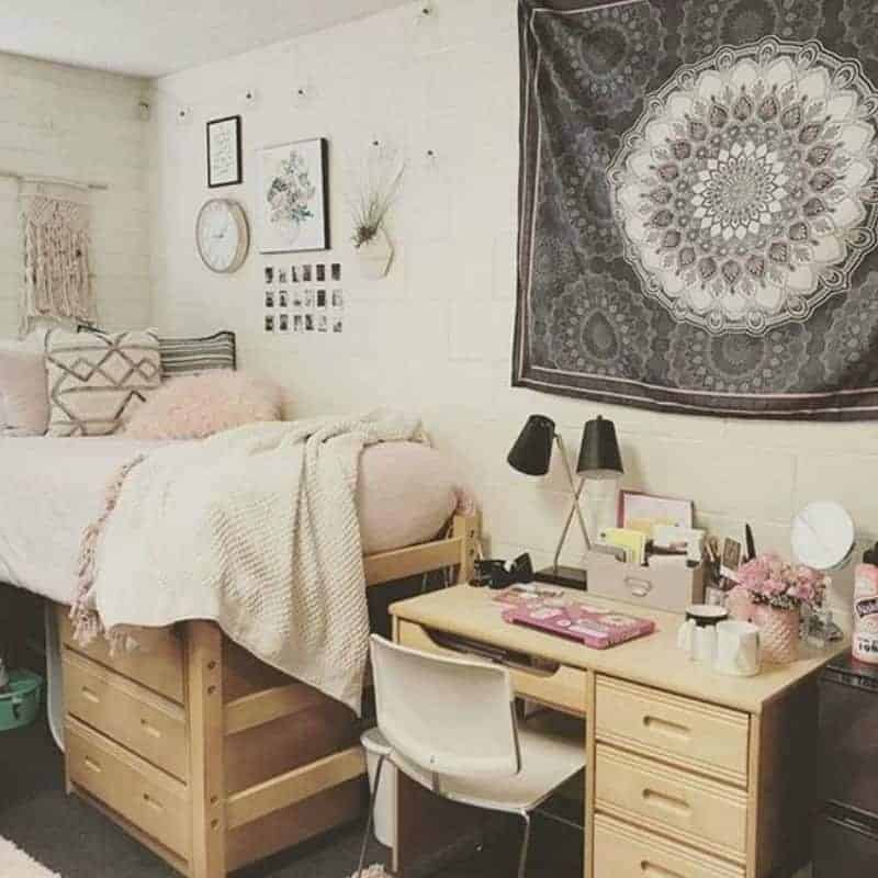 Best 20 College Dorm Room Ideas To Channel Your Inner This Month