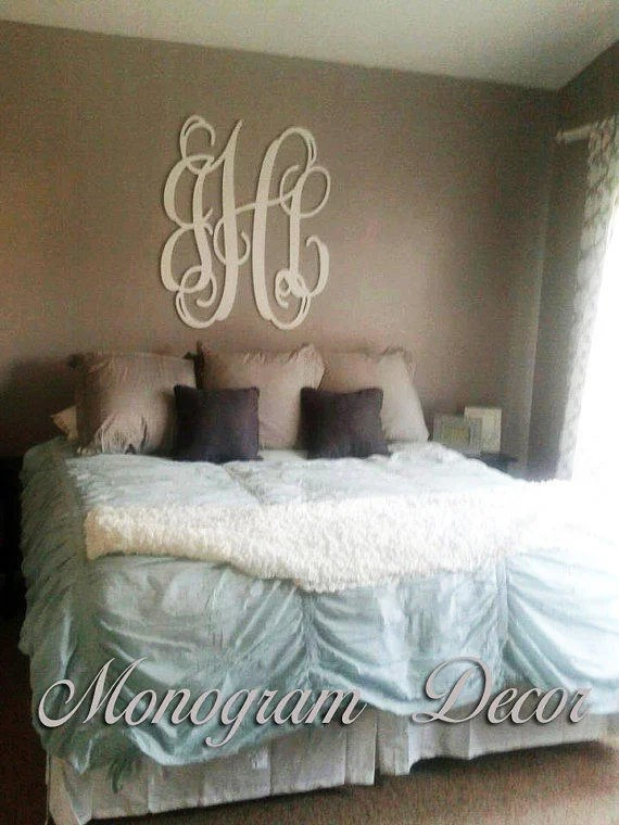 Best 36 Inch Wooden Monogram Wall Letters From This Month