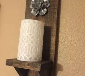 Best 13 Homemade Wall Sconces That Double As Wall Decor Hometalk This Month