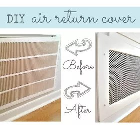Best How To Make A Decorative Air Return Vent Cover Hometalk This Month