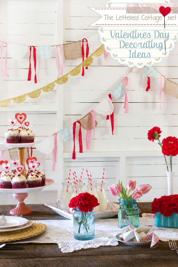 Best 31 Creative Ideas For Valentines Day Decorations – Tip J*Nk** This Month