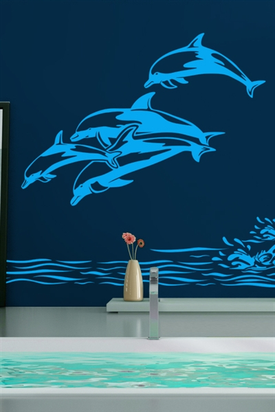 Best Wall Decals Dolphins Walltat Com Art Without Boundaries This Month