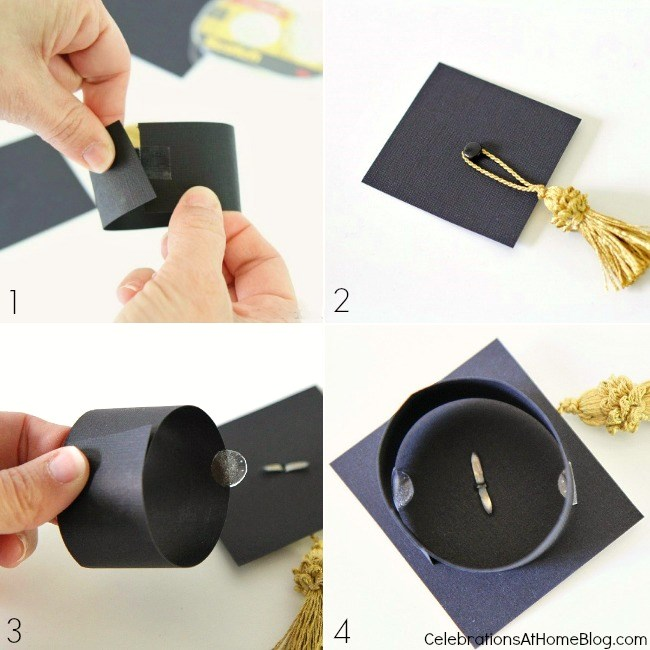 Best Diy Graduation Cap Bottle Toppers Celebrations At Home This Month