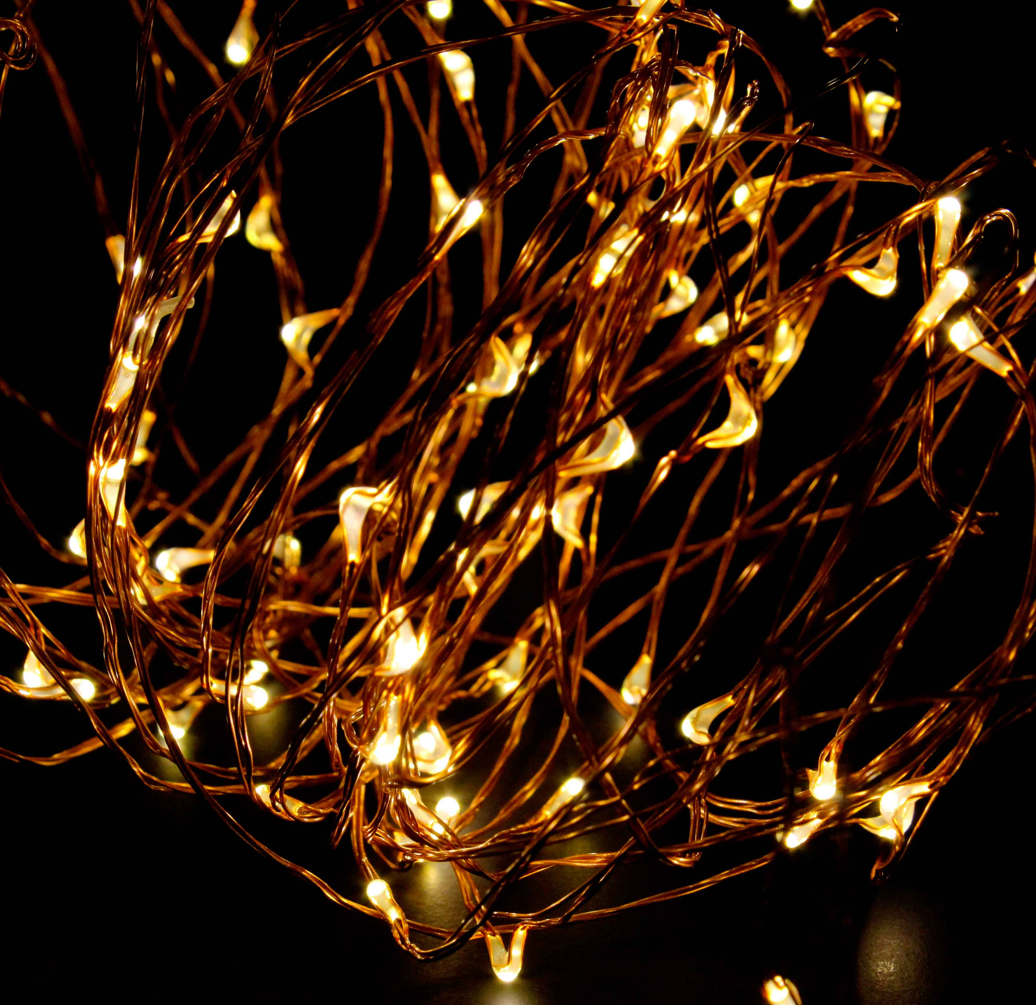 Best Abn Indoor String Fairy Rice Lights Dimmable Led String This Month