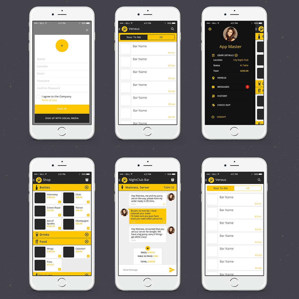 Best Elegant Playful It Professional App Design For Instant This Month