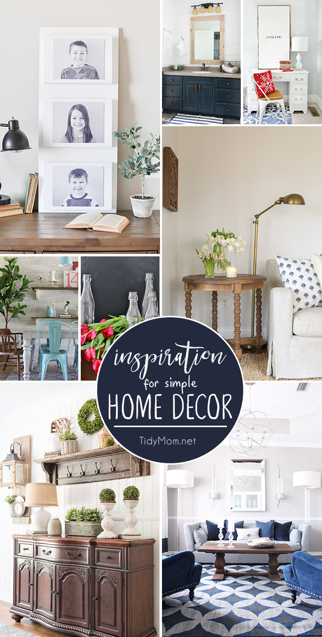 Best Simple Home Decor Inspiration To Love Tidymom® This Month
