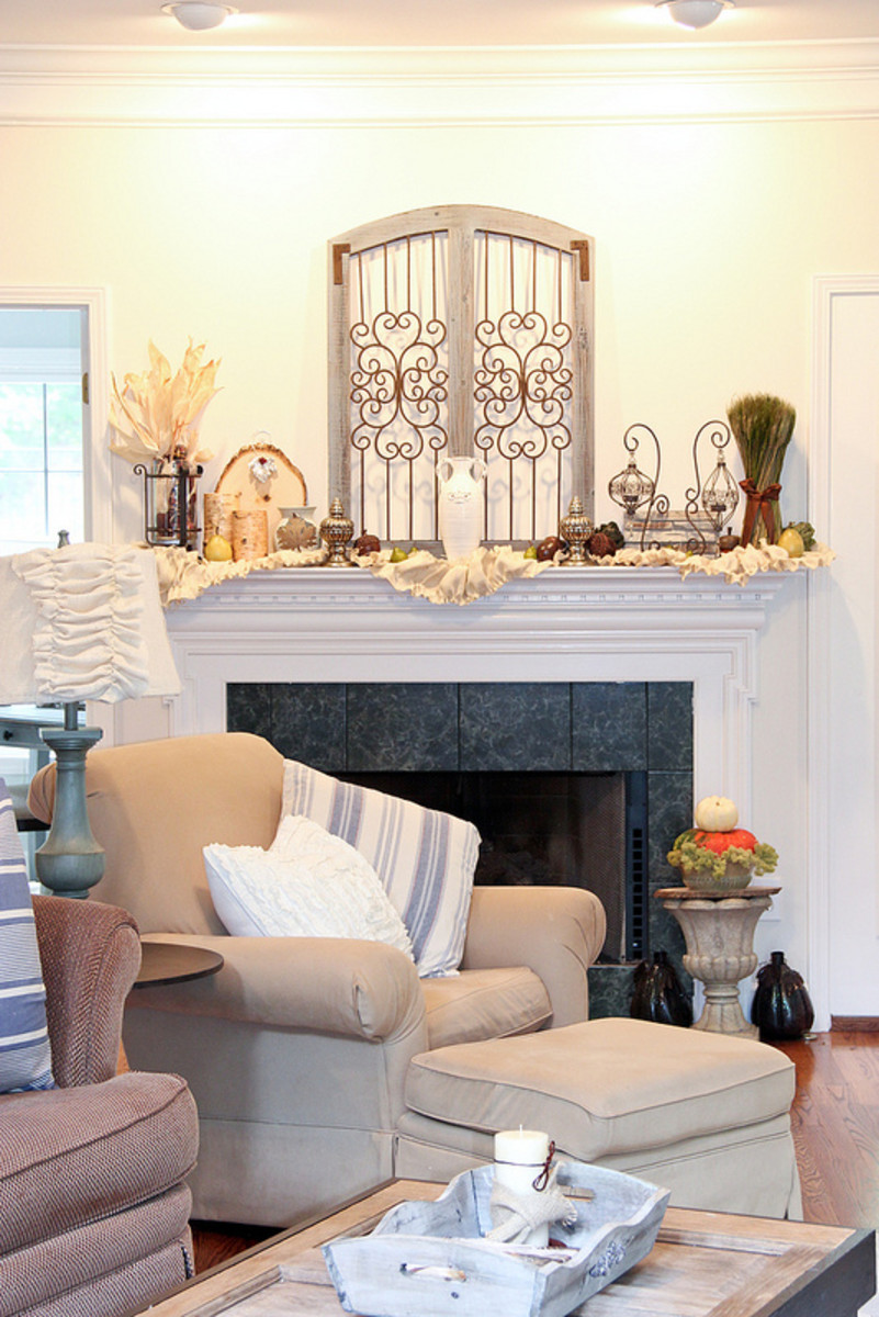Best How To Decorate A Fireplace Mantel Hubpages This Month