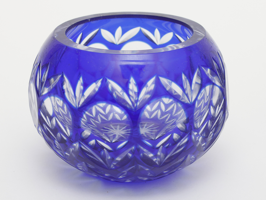 Best Trio Of Blue Glass Decorative Pieces Ebth This Month