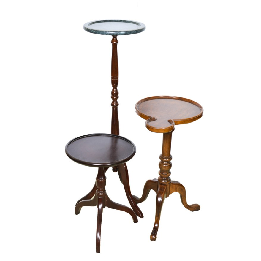 Best Trio Of Decorative Wooden Pedestal Plant Stands Featuring This Month