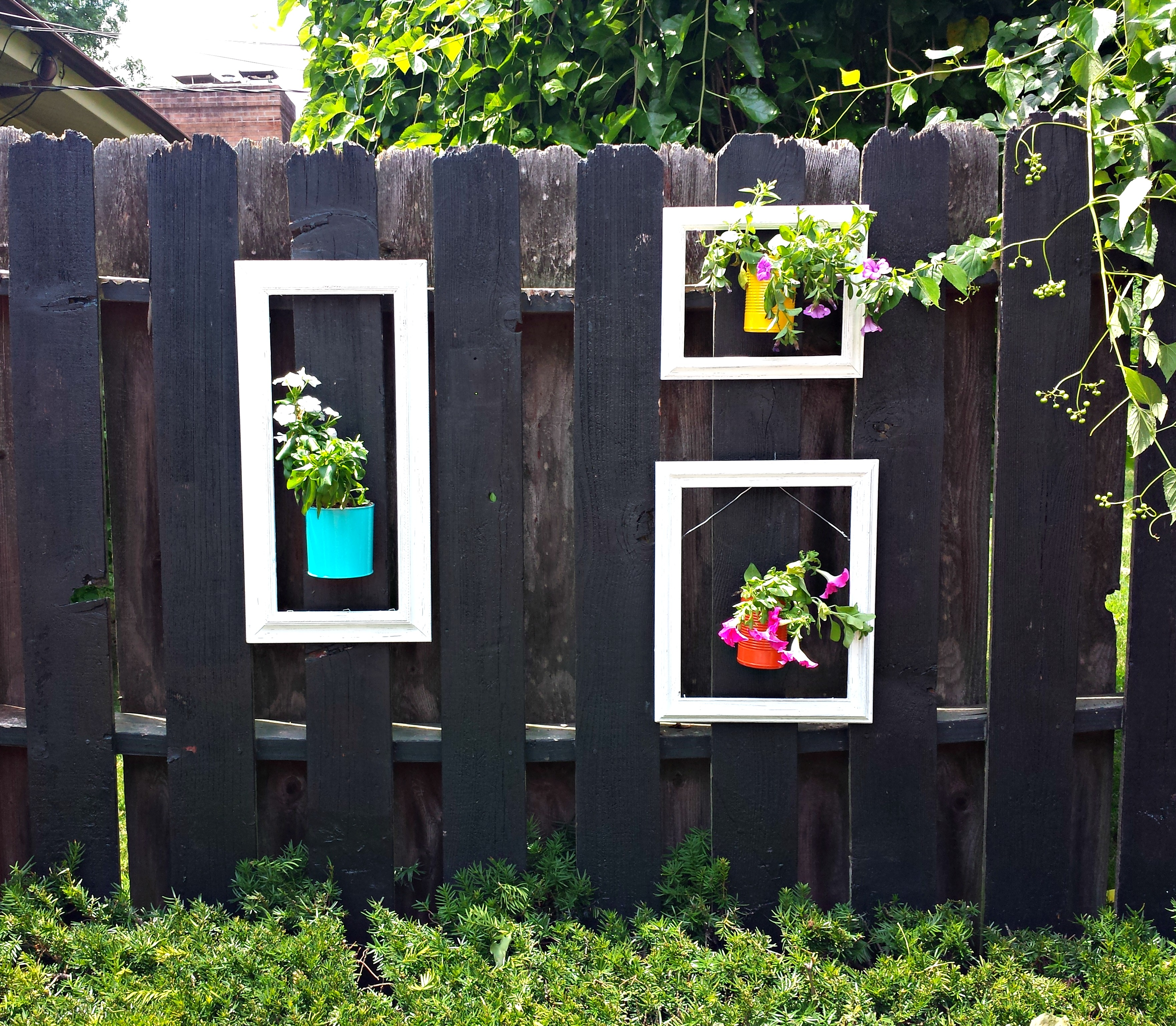 Best Decorate A Fence Why Not Five Painted Lane This Month