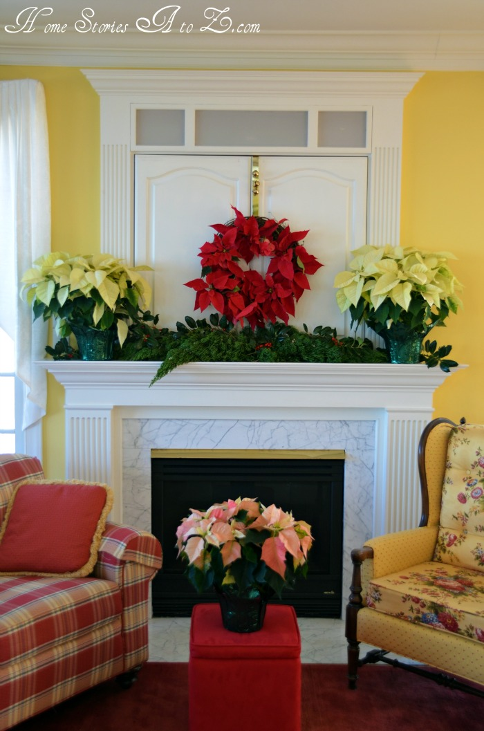 Best Decorating With Poinsettias Poinsettia Home Stories A To Z This Month