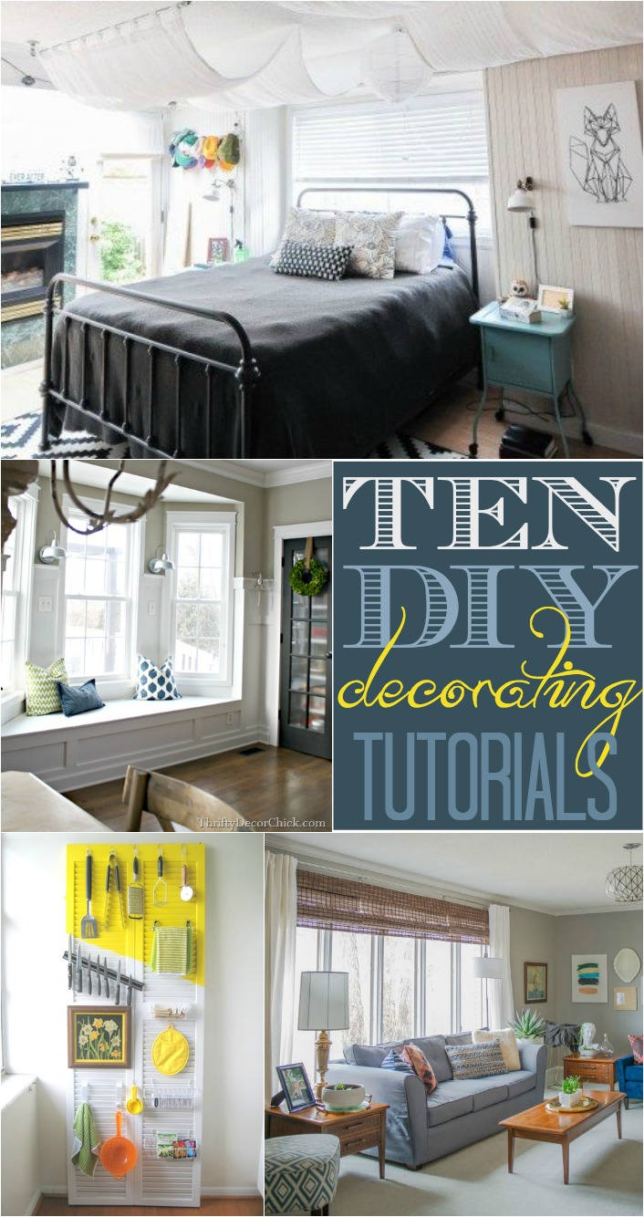 Best 10 Do It Yourself Decorating Tutorials Home Stories A To Z This Month