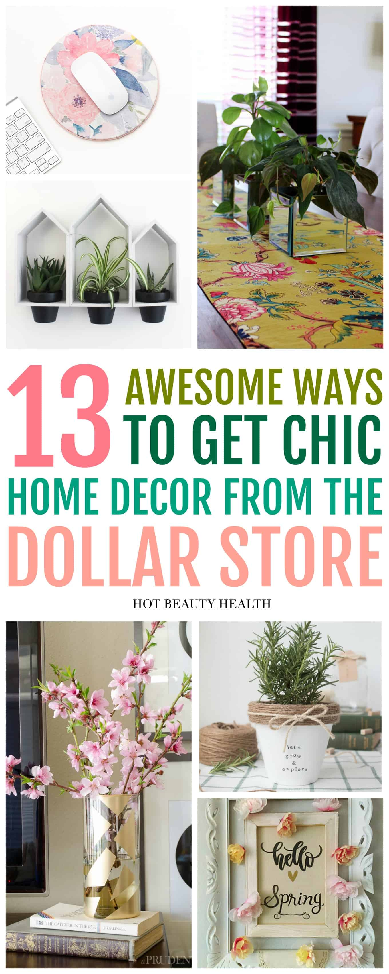 Best 13 Dollar Store Home Decor Ideas You Ll Love Hot Beauty This Month