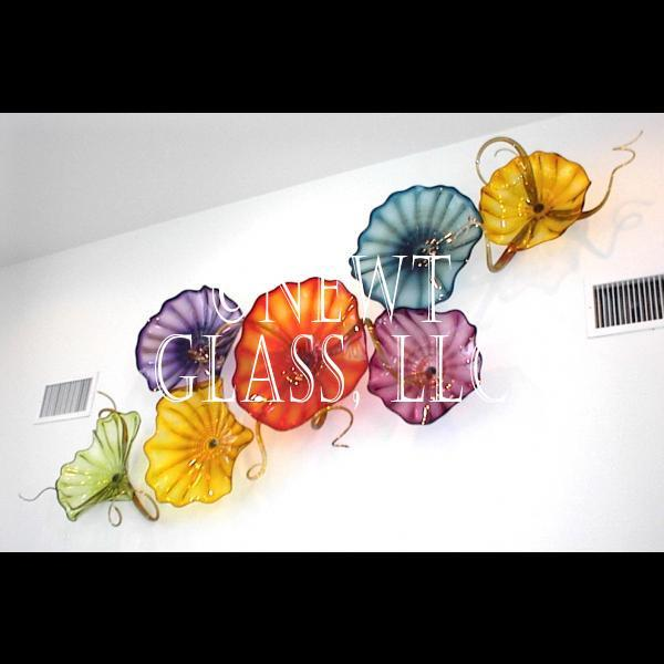Best Decorative Glass Wall Art Plates Colorful Blown Glass This Month