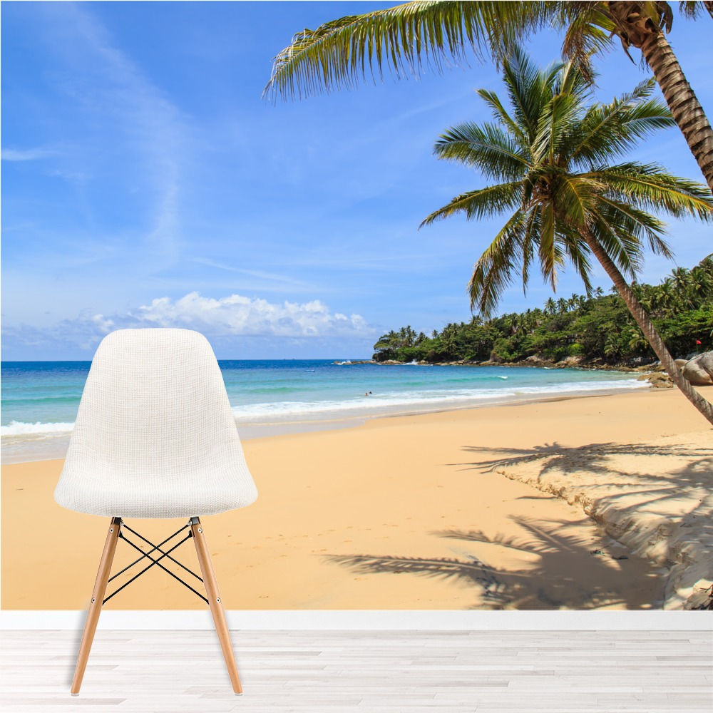Best Tropical Paradise Wall Mural Beach Landscape Photo This Month