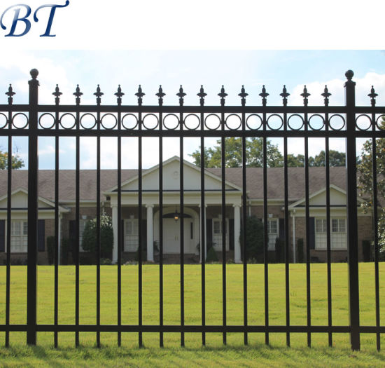 Best China Decorative Wrought Iron Fencing Panel Dog Proof This Month