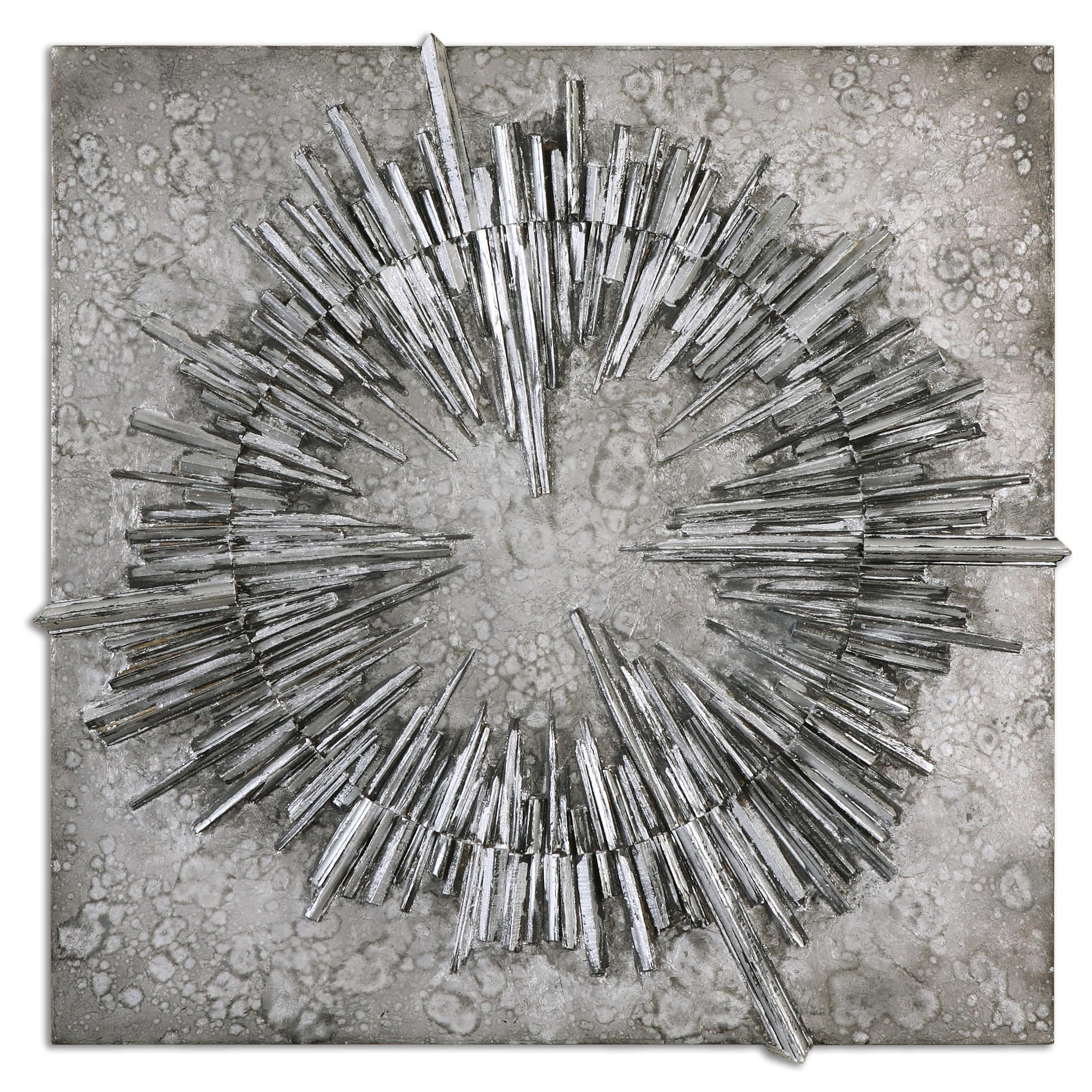 Best Uttermost Alternative Wall Decor Nebulus Silver Wall Art This Month
