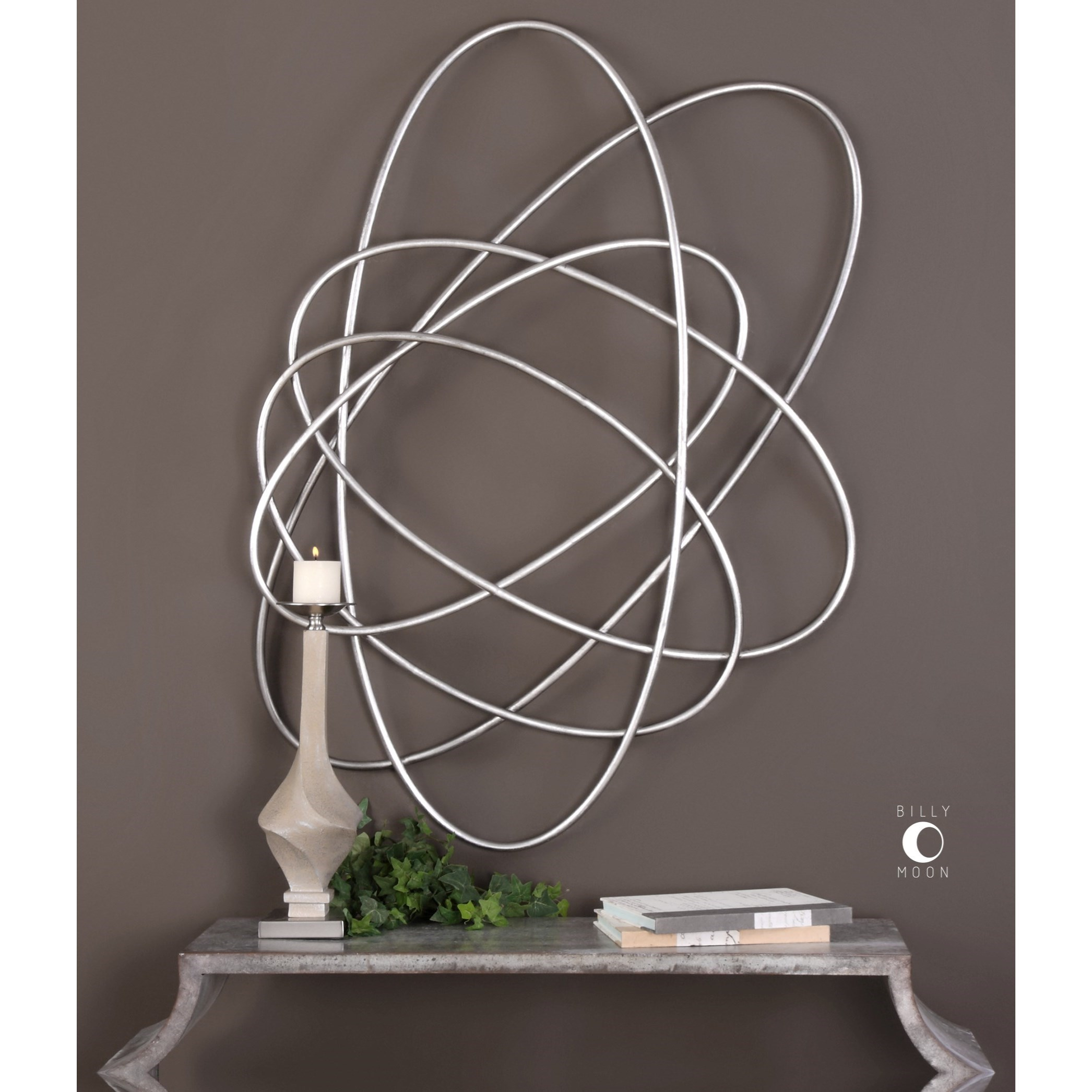Best Uttermost Alternative Wall Decor 04061 Orbital Silver Wall This Month