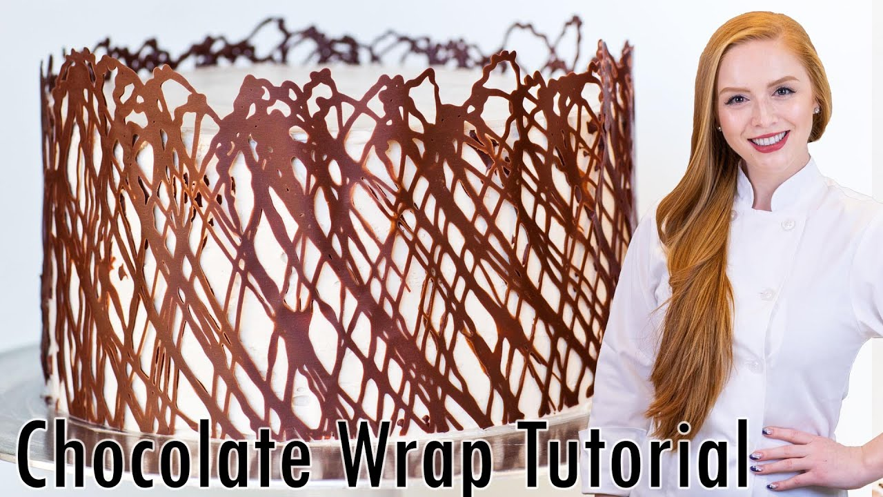Best Chocolate Cake Wrap Cake Decorating Tutorial Youtube This Month