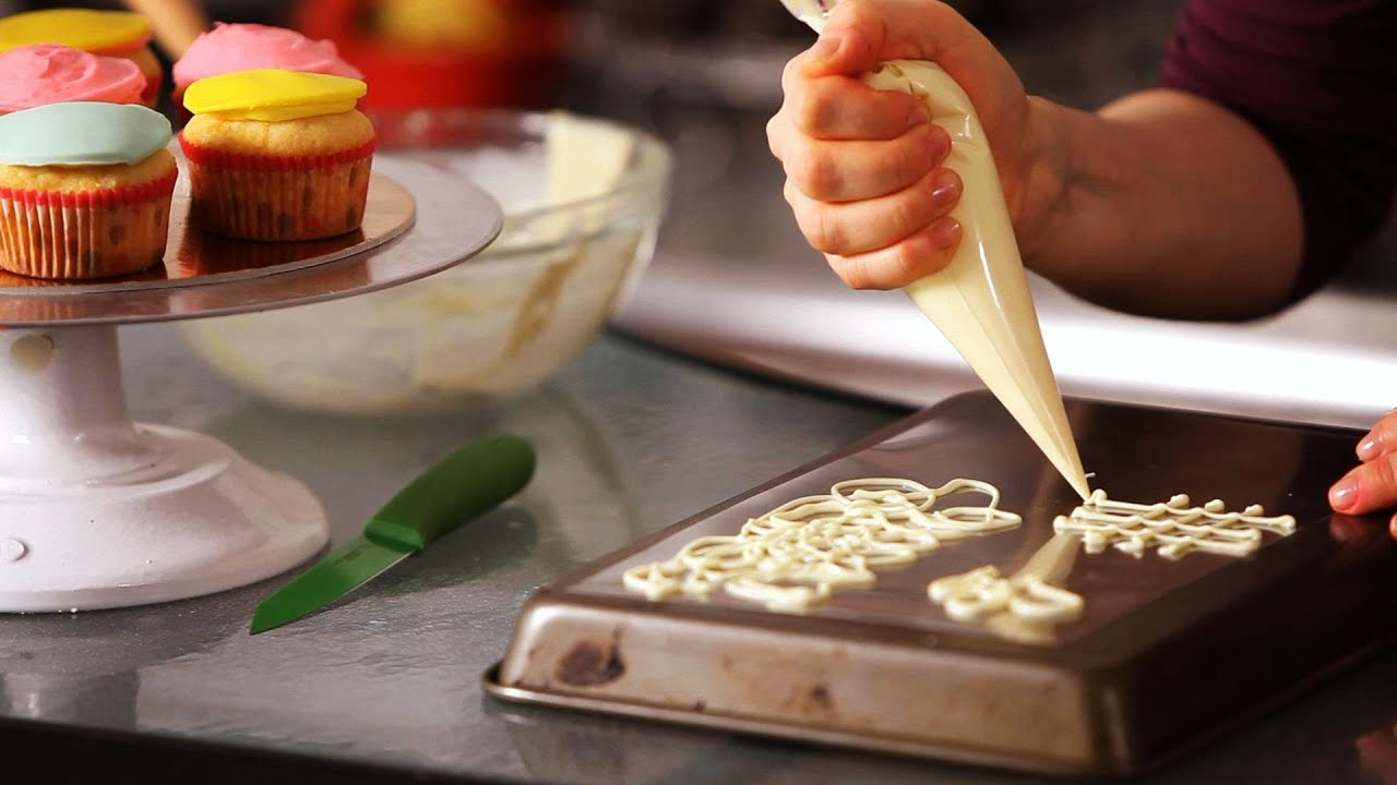 Best How To Make White Chocolate Decorations Cake Decorating This Month