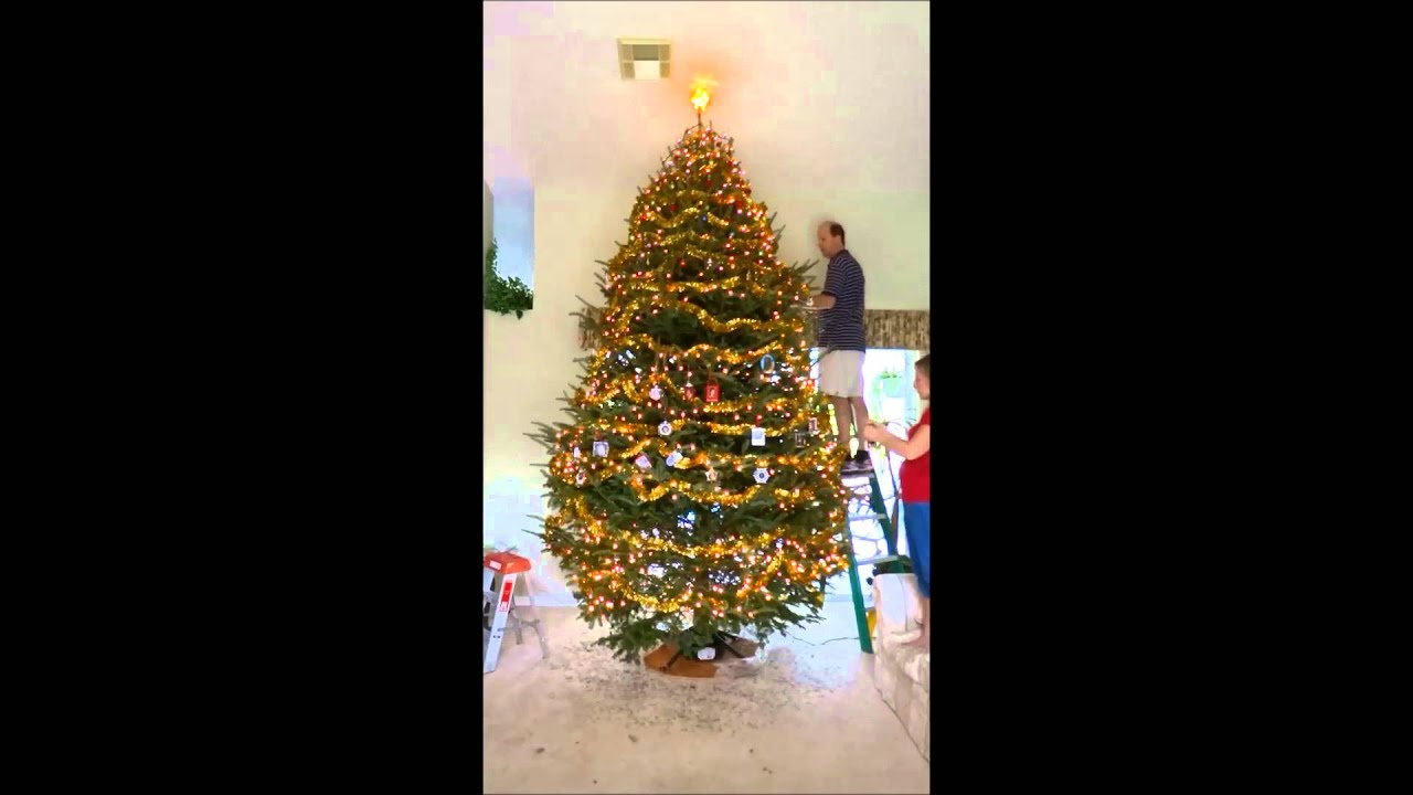 Best 12 Foot Christmas Tree Decorated In 12 Hours Shown In Less This Month
