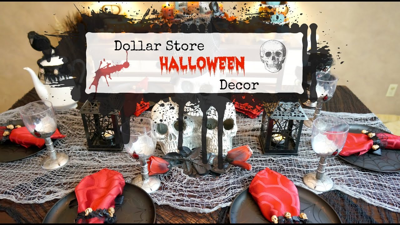 Best Dollar Store Halloween Decor Youtube This Month