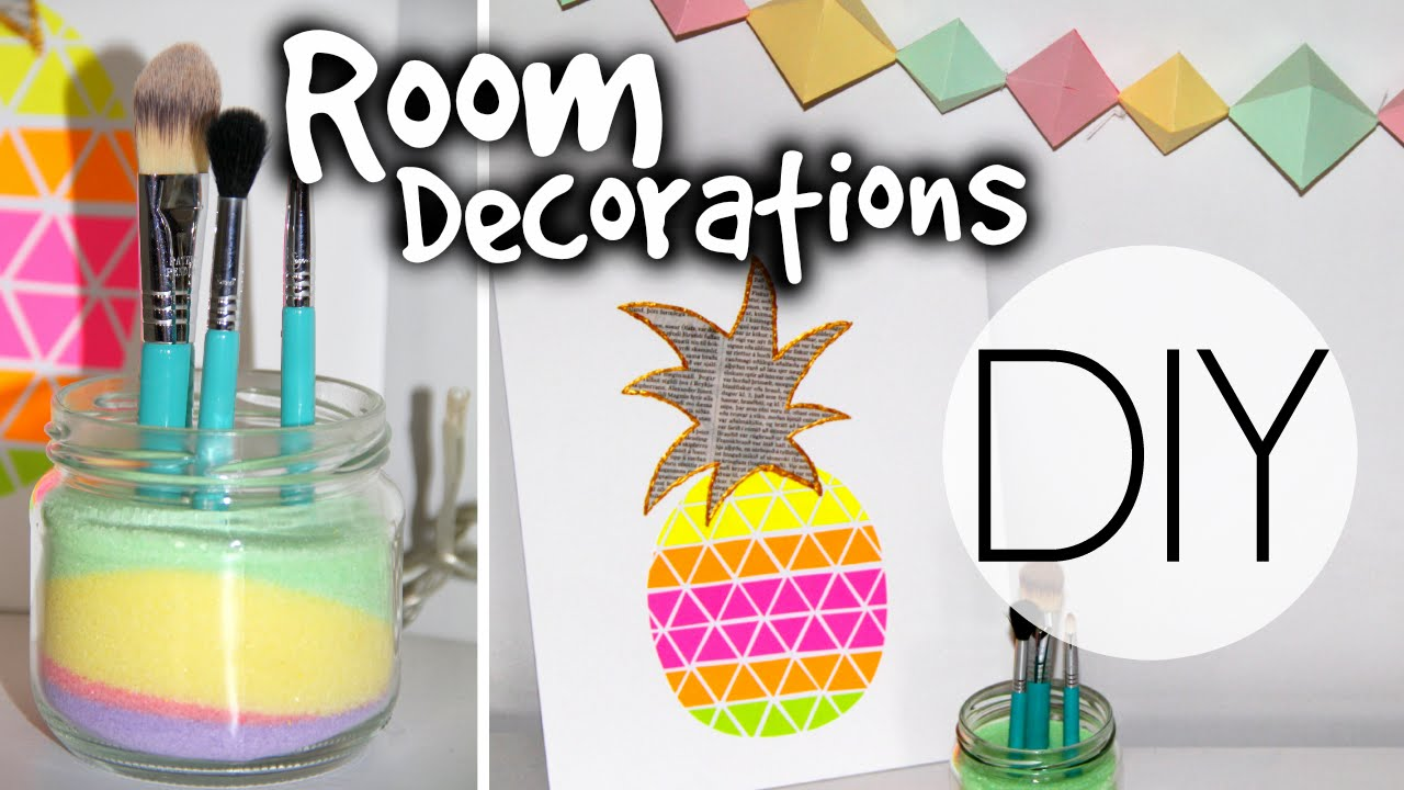 Best Diy Summer Room Decorations Youtube This Month