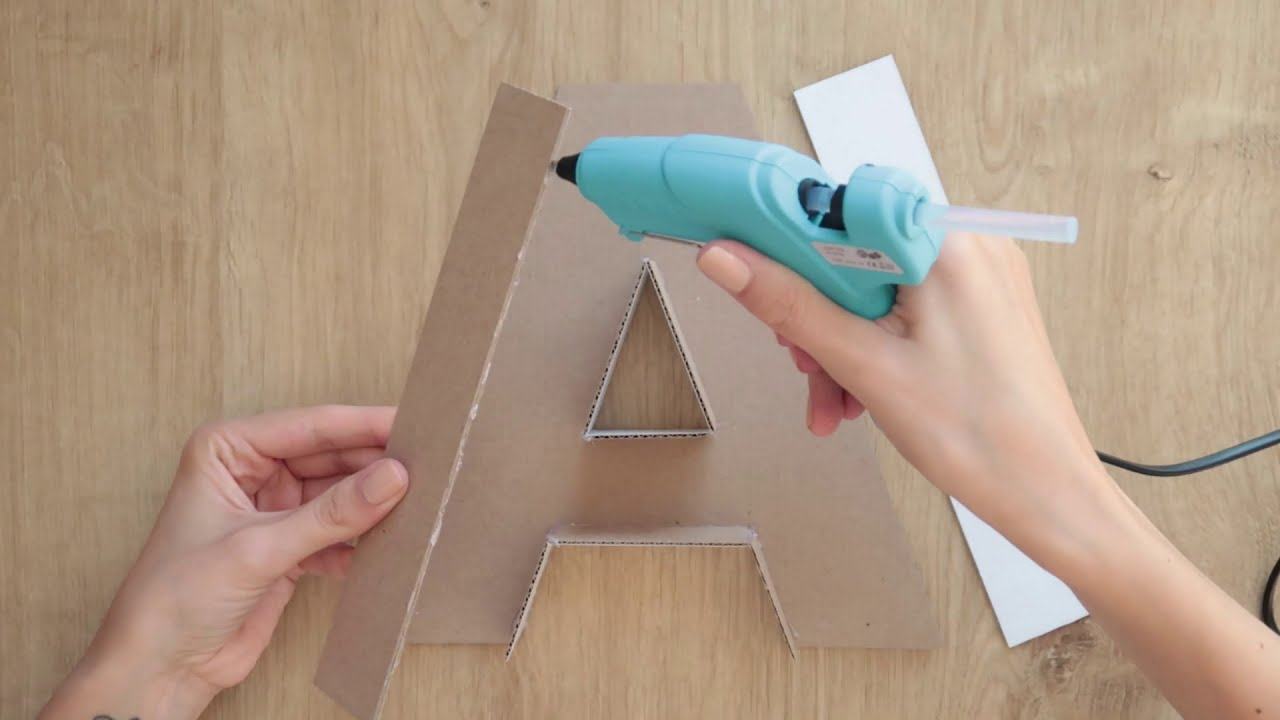 Best 3D Letter Diy How To Make A Paper Letter Room Decor Diy This Month