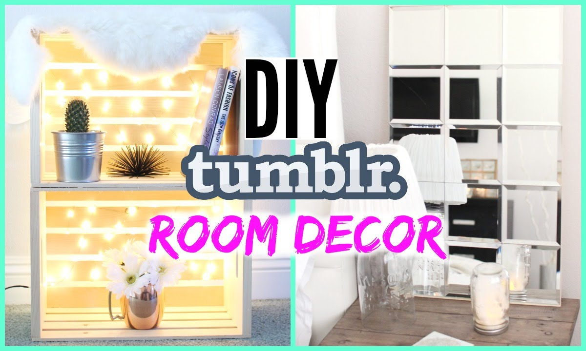 Best Diy Tumblr Room Decor Cheap Simple Youtube This Month