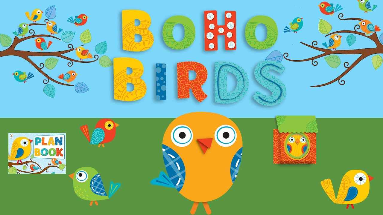 Best Boho Birds Classroom Decor Theme From Carson Dellosa Youtube This Month