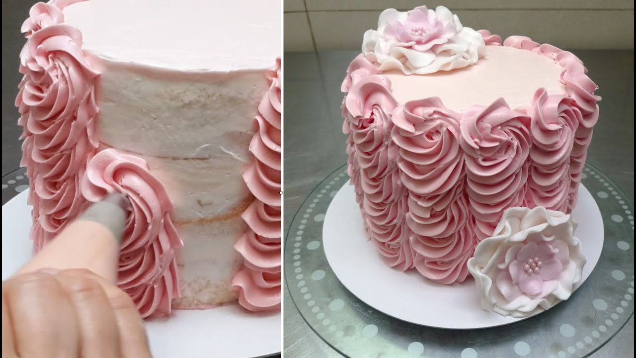 Best Buttercream Cake Decorating Fast And Easy Technique By This Month