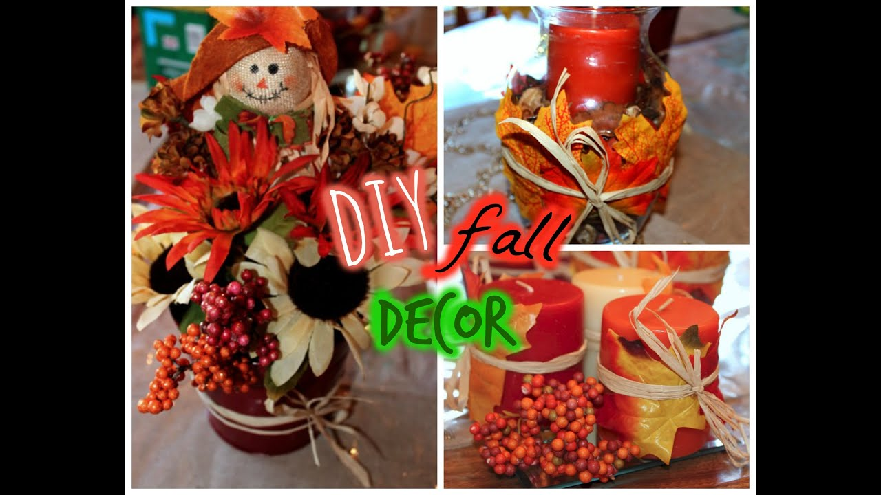 Best Dollar Tree Diy Fall Decor Youtube This Month
