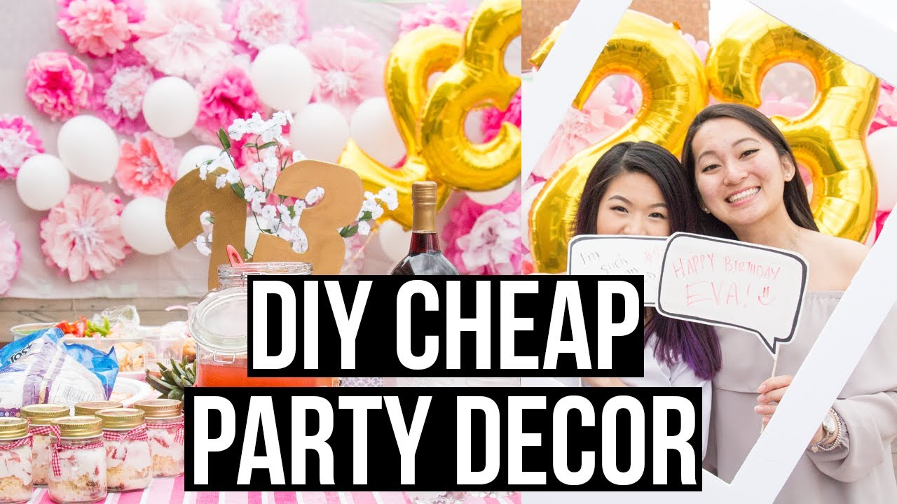 Best Diy Cheap And Easy Dollar Store Party Decorations Eva This Month