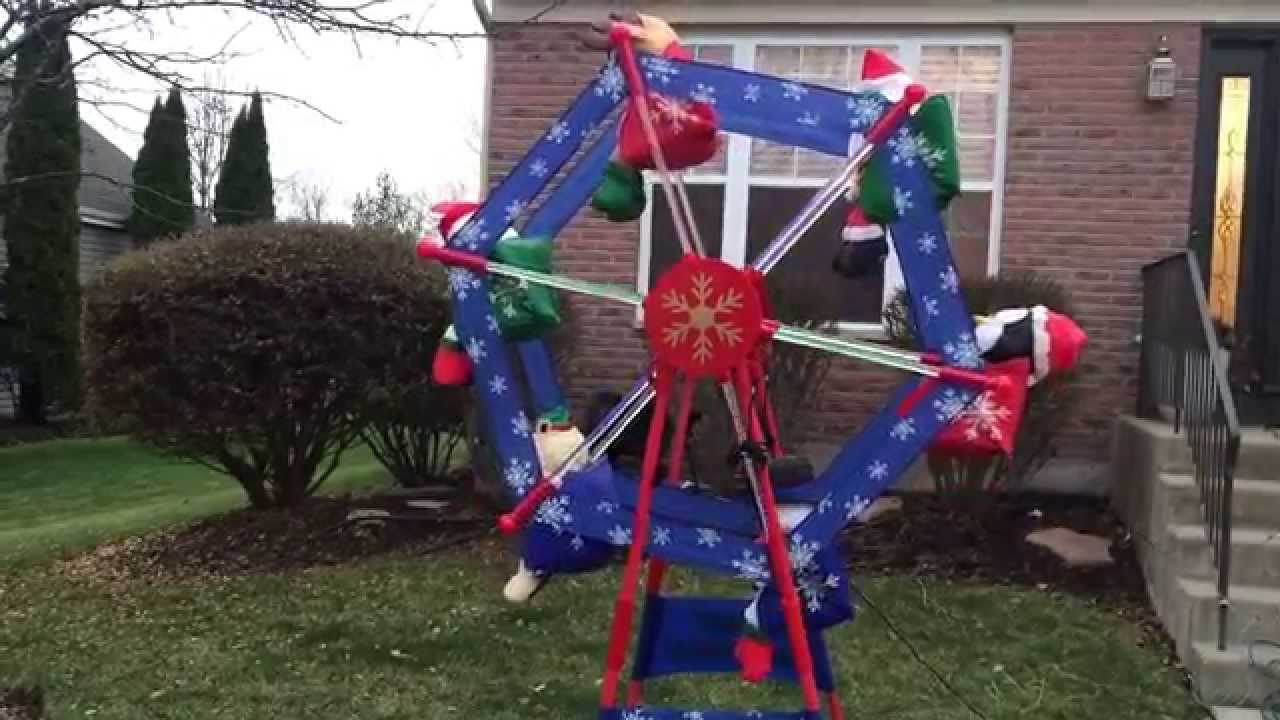Best 7 Gemmy Animated Christmas Ferris Wheel Youtube This Month