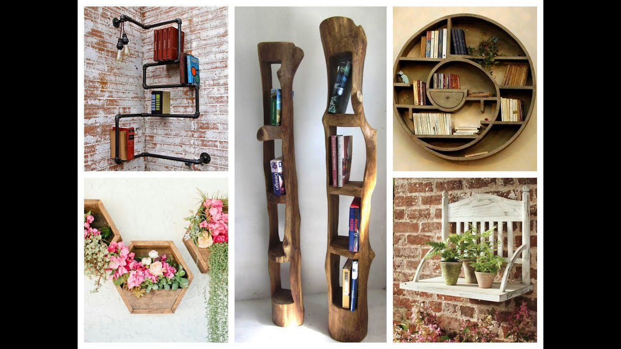Best Creative Wall Shelves Ideas – Diy Home Decor Youtube This Month