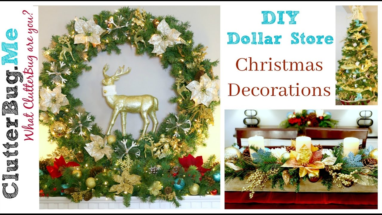 Best Diy Dollar Tree Christmas Decor Ideas For 2016 Youtube This Month