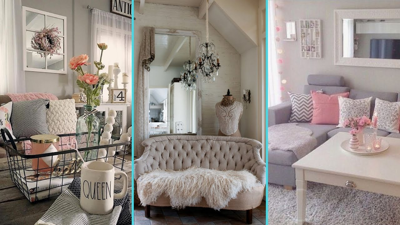 Best Diy Shabby Chic Style Small Apartment Decor Ideas Home This Month