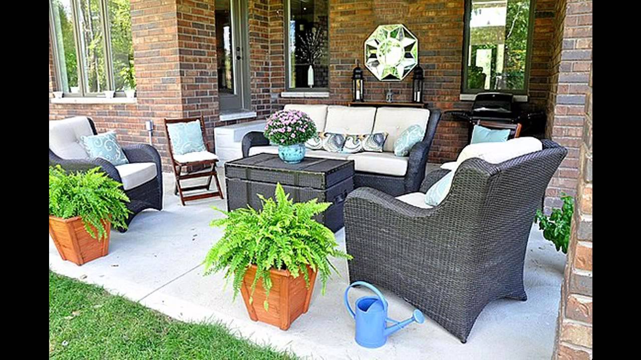 Best Simple Back Porch Decorating Ideas Youtube This Month