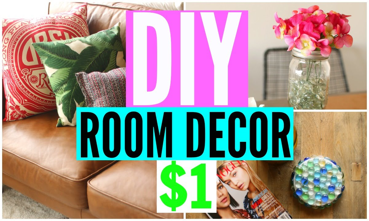 Best Diy Room Decor From The Dollar Store Cheap Room This Month